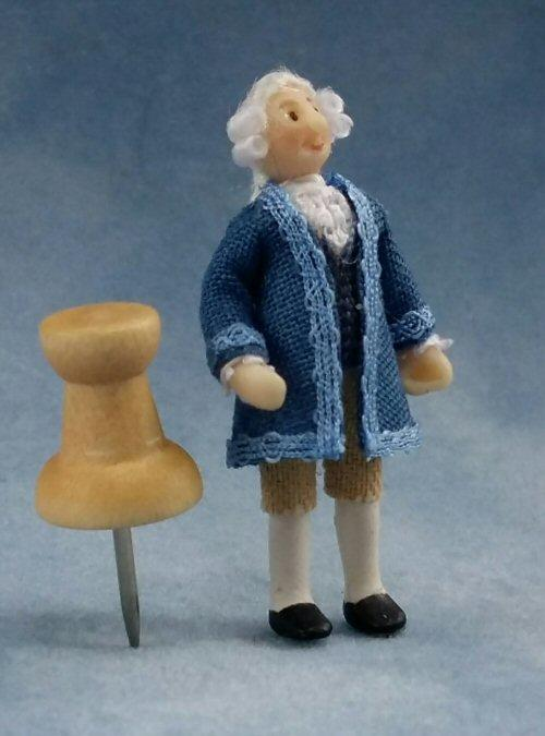 1/48th scale Dolls House Georgian Man figure