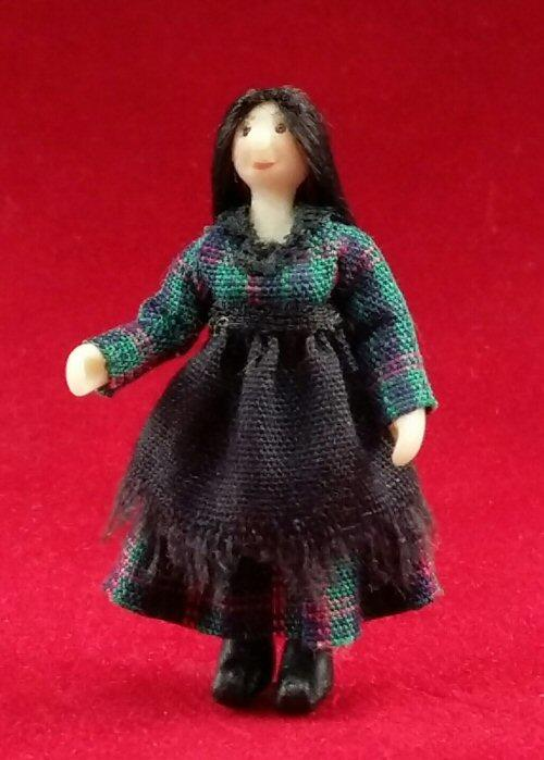 Quarter scale Miniature Witch doll