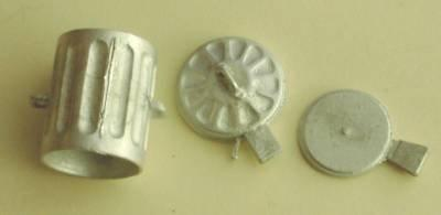 1/48th scale Metal Dust Bin kit