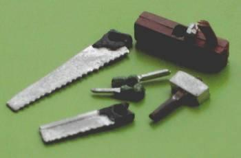1/48th scale painted Woodwork Tools