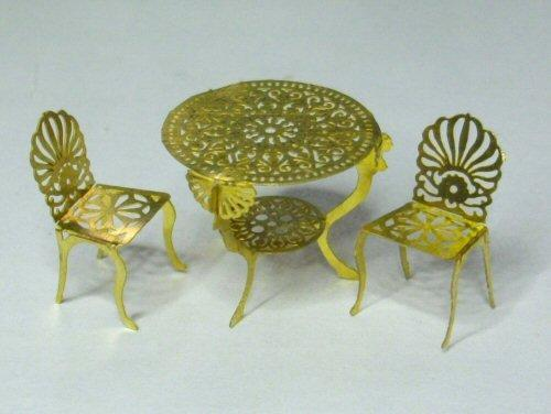 1/48th scale Garden Table and Chairs Kit