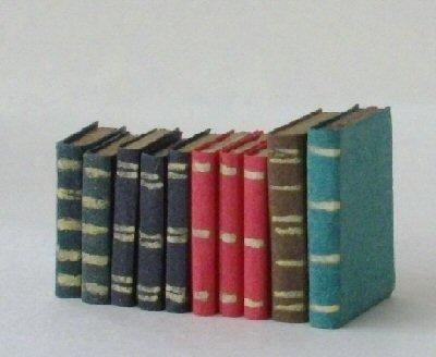 Set of 1/24th scale books