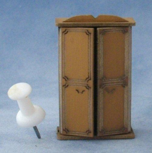 Quarter scale two door Wardrobe Kit