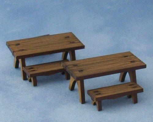 1/48th scale Picnic Tables and Benches Kit