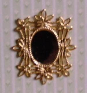 1/24th scale Filigree Wall Mirror