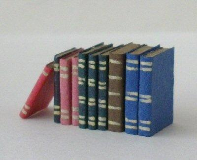 Half scale books