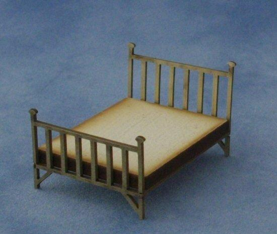 1/48th scale Double Brass Bed Kit