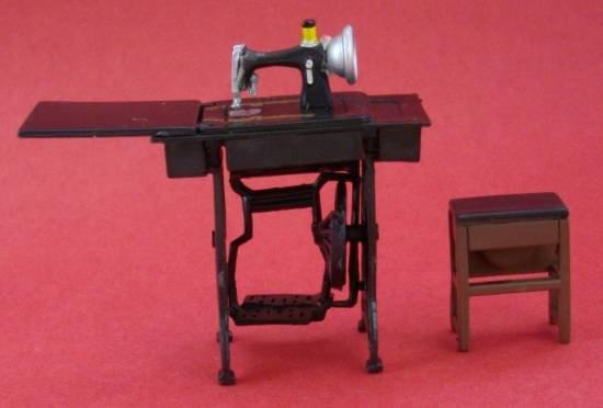 Half scale Treadle Sewing Machine