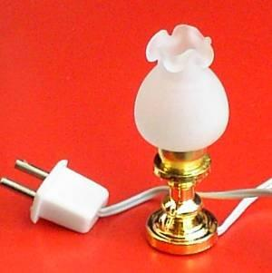 A 1/24th scale Dolls House Short Oil Lamp Light