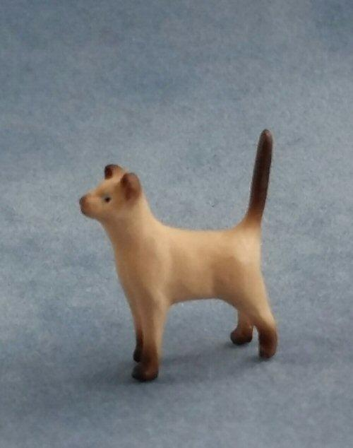 1/24th scale Siamese Cat