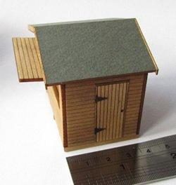 Quarter scale Christmas Continental Style Wooden Market Stall