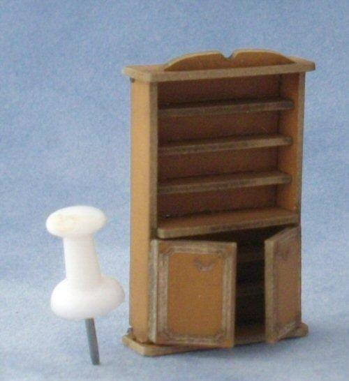 Quarter scale Bookshelf Cupboard Kit