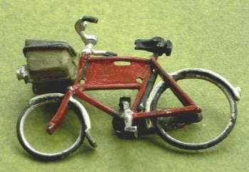 1/48th scale Shopper Store Delivery Bike painted