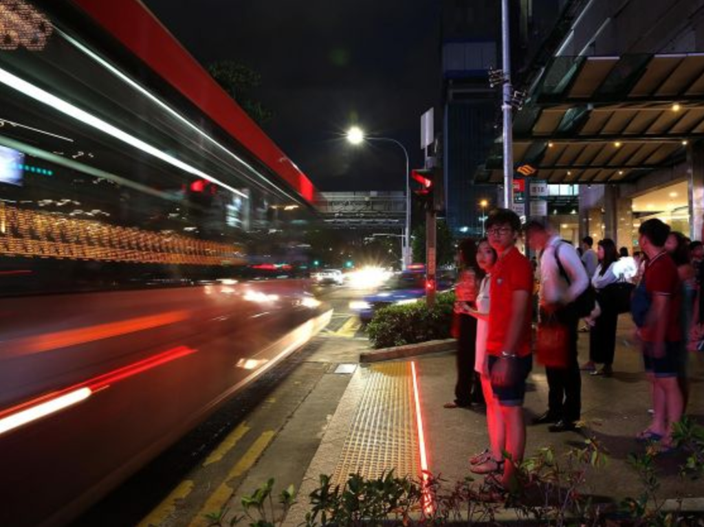 Leds To Aid Pedestrian Safety In Singapore