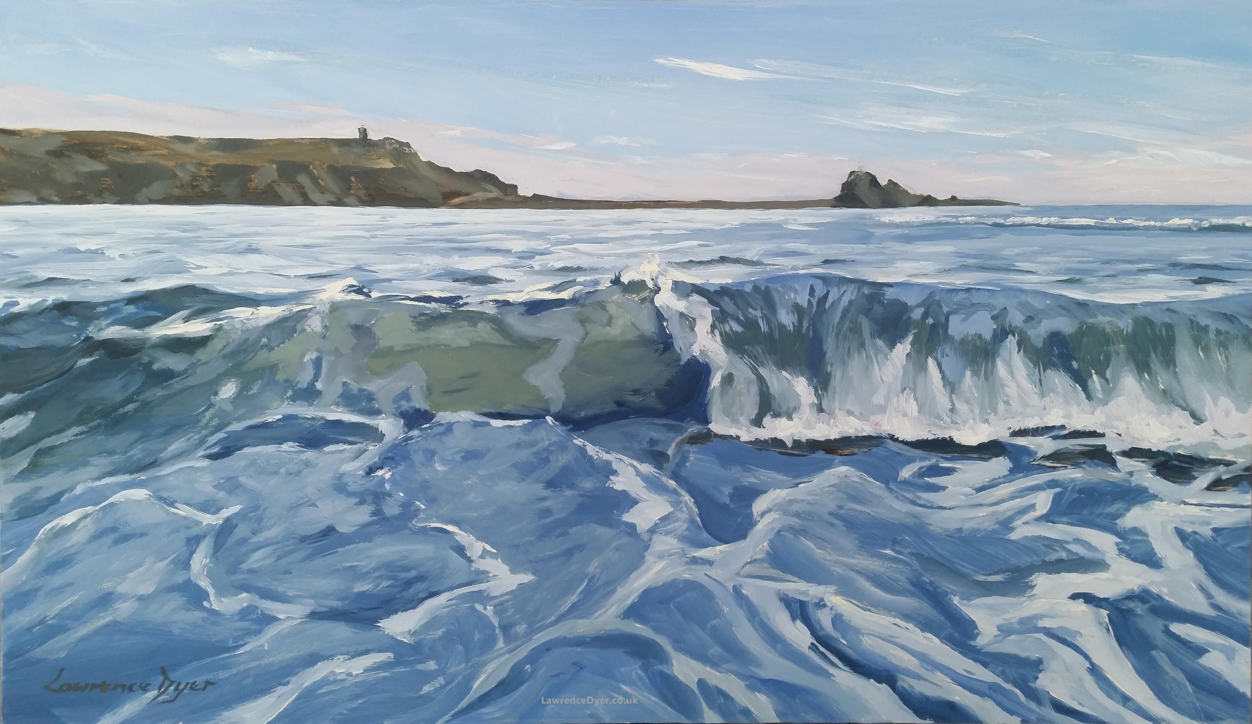 Bude Blue Wave by Lawrence Dyer