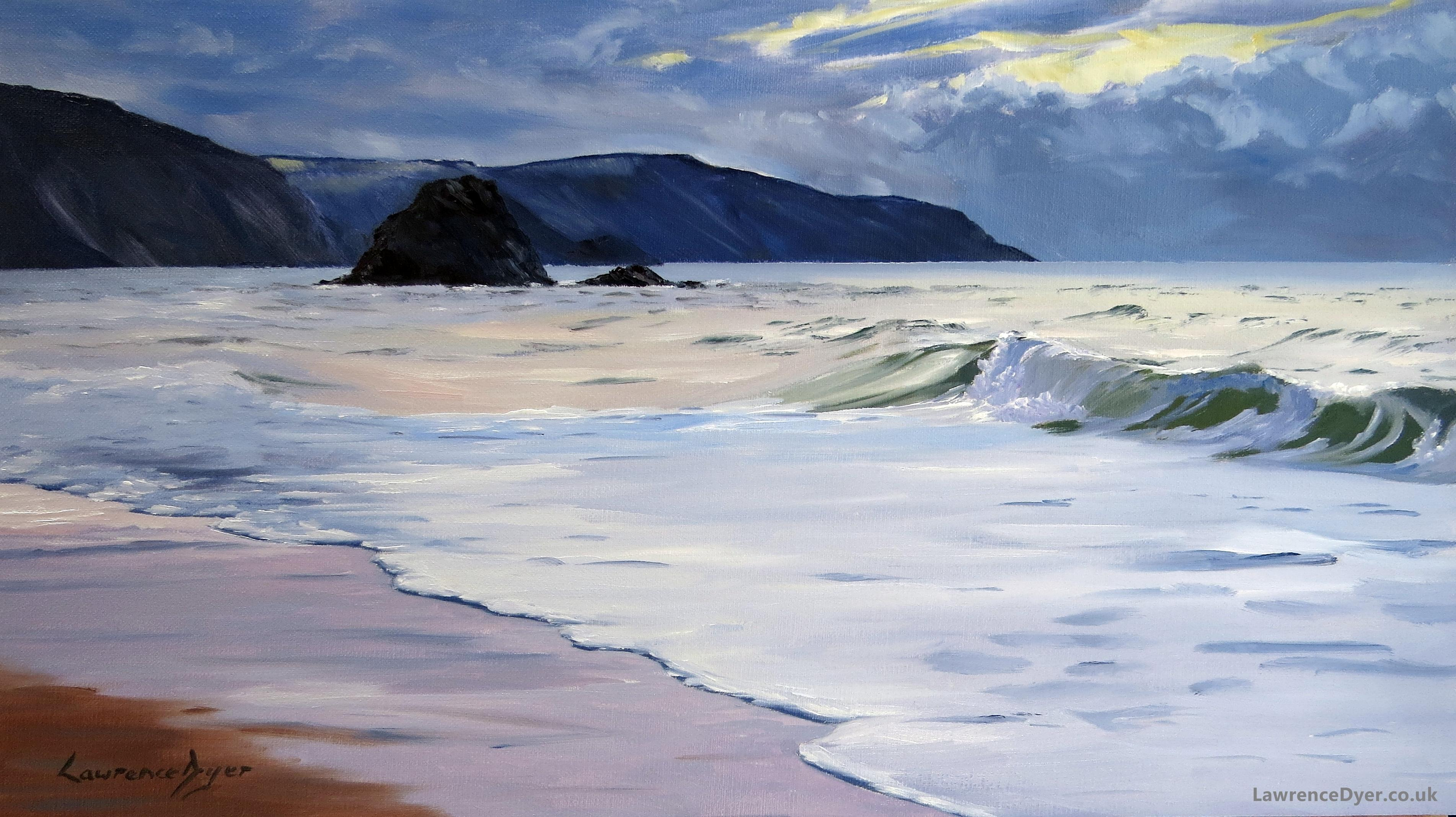 Black Rock Widemouth art print