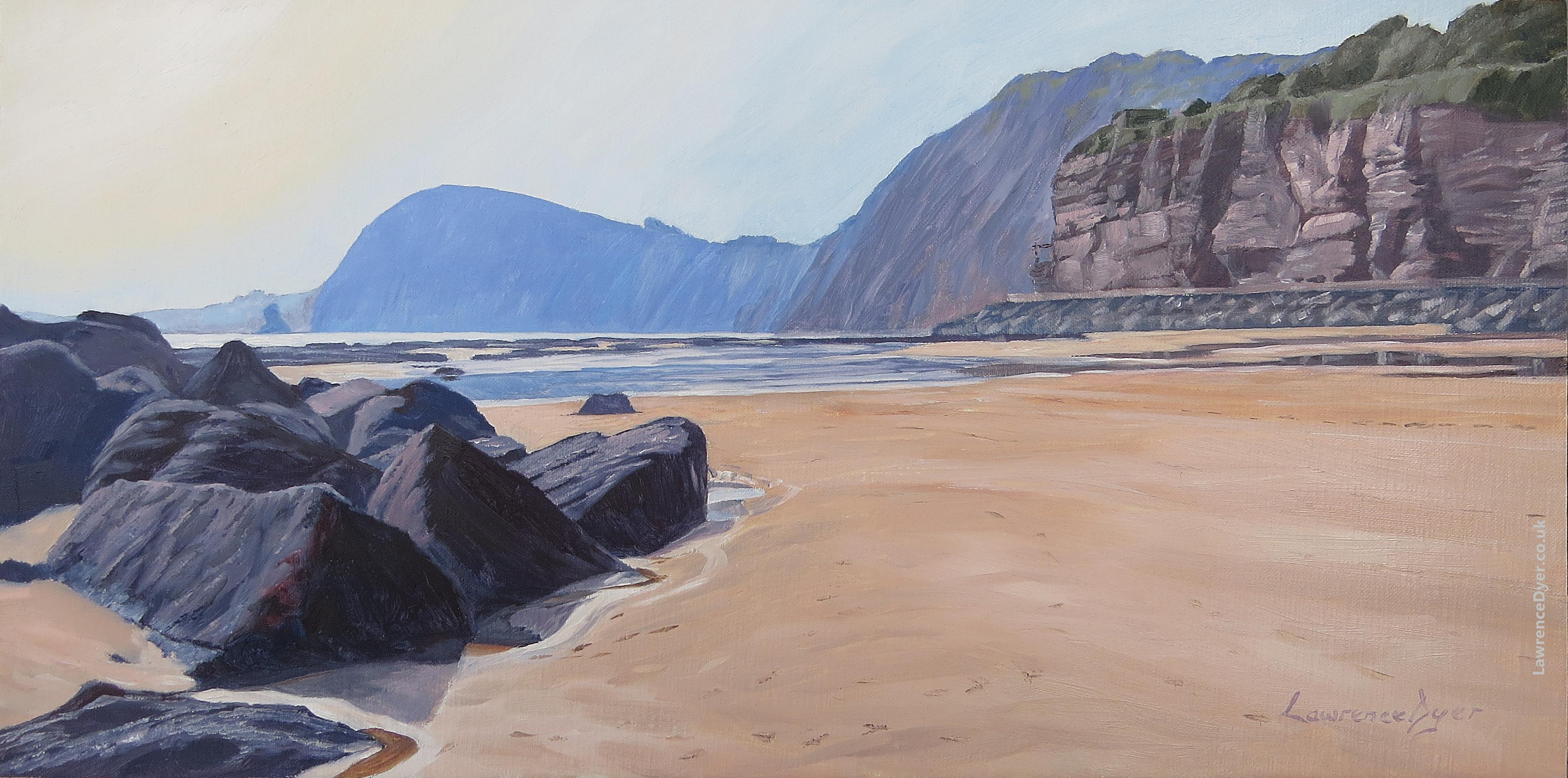 Sidmouth High Peak art print