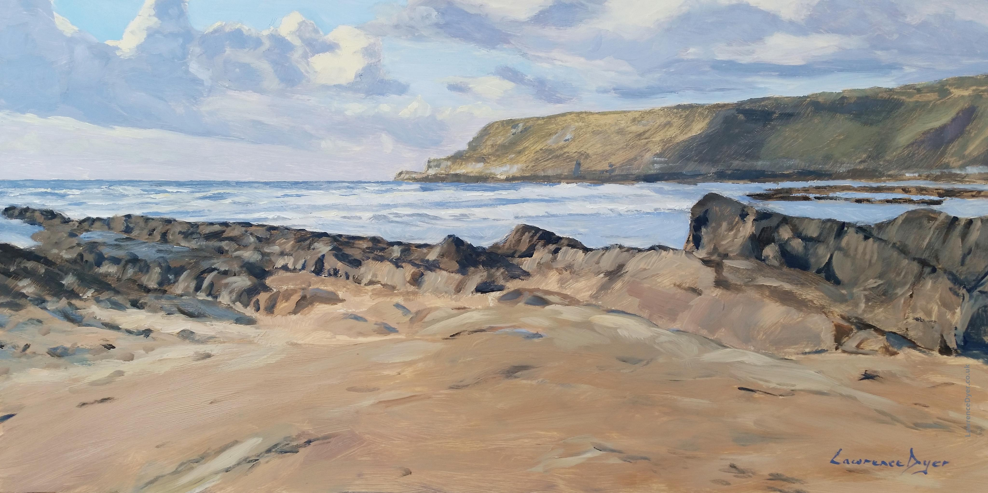 Widemouth Bay Spring by Lawrence Dyer co uk