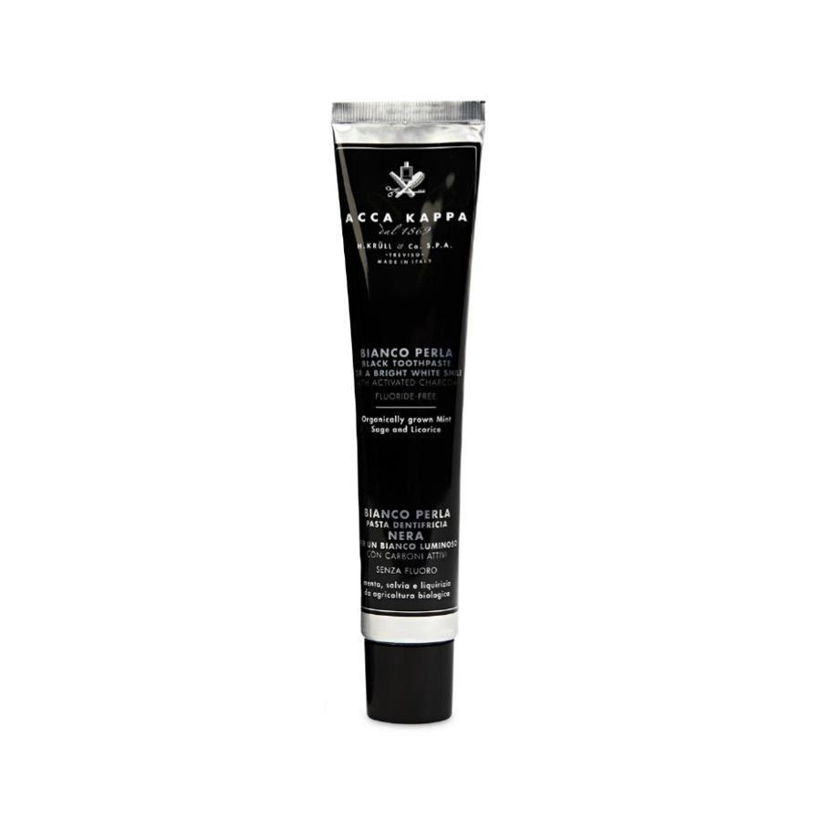skridsko skor kvalitetsdesign det senaste Acca Kappa Activated Charcoal Fluoride Free Black Toothpaste