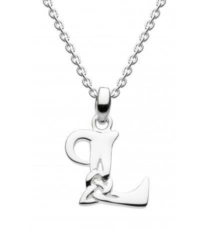 Heritage celtic initial pendant necklace image of heritage celtic initial pendant necklace letter l aloadofball Gallery