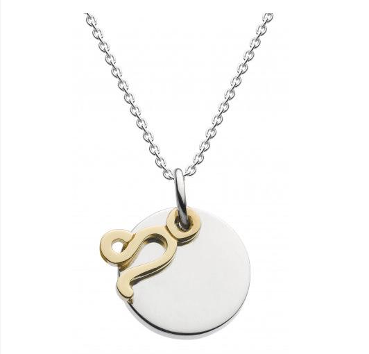 Dew Sterling Silver Starsign Necklace rOzbLD