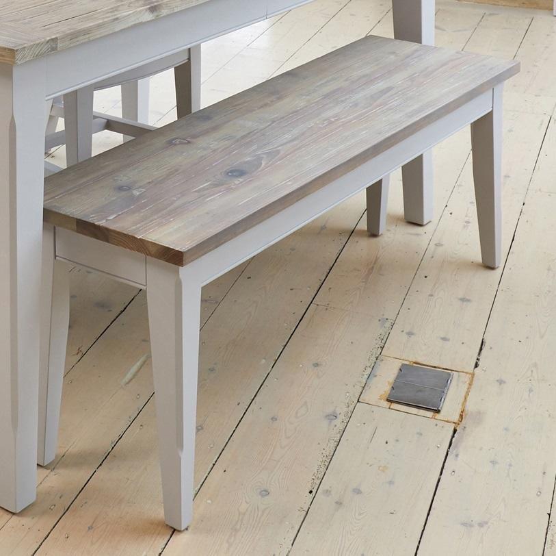 Astounding Greyland Small Dining Bench Dailytribune Chair Design For Home Dailytribuneorg