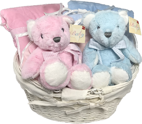 Sing a Song Twins baby gift basket