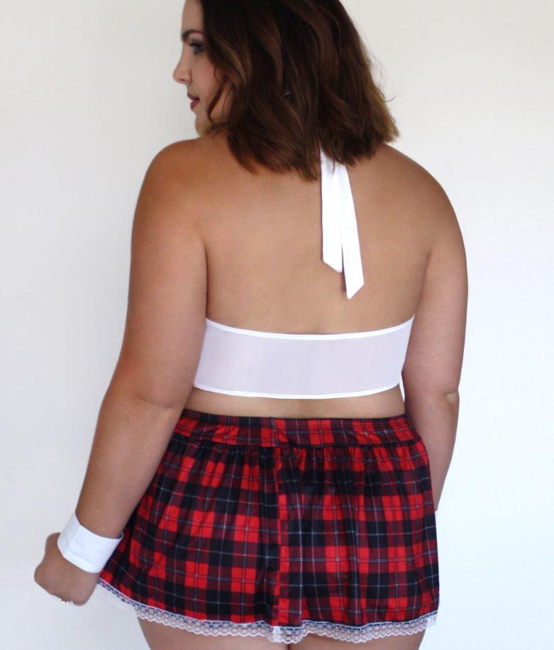 Schoolgirl Outfit rear view