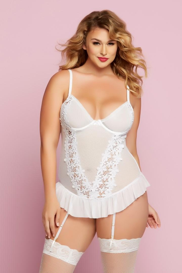 Earth Angel Bustier in plus size