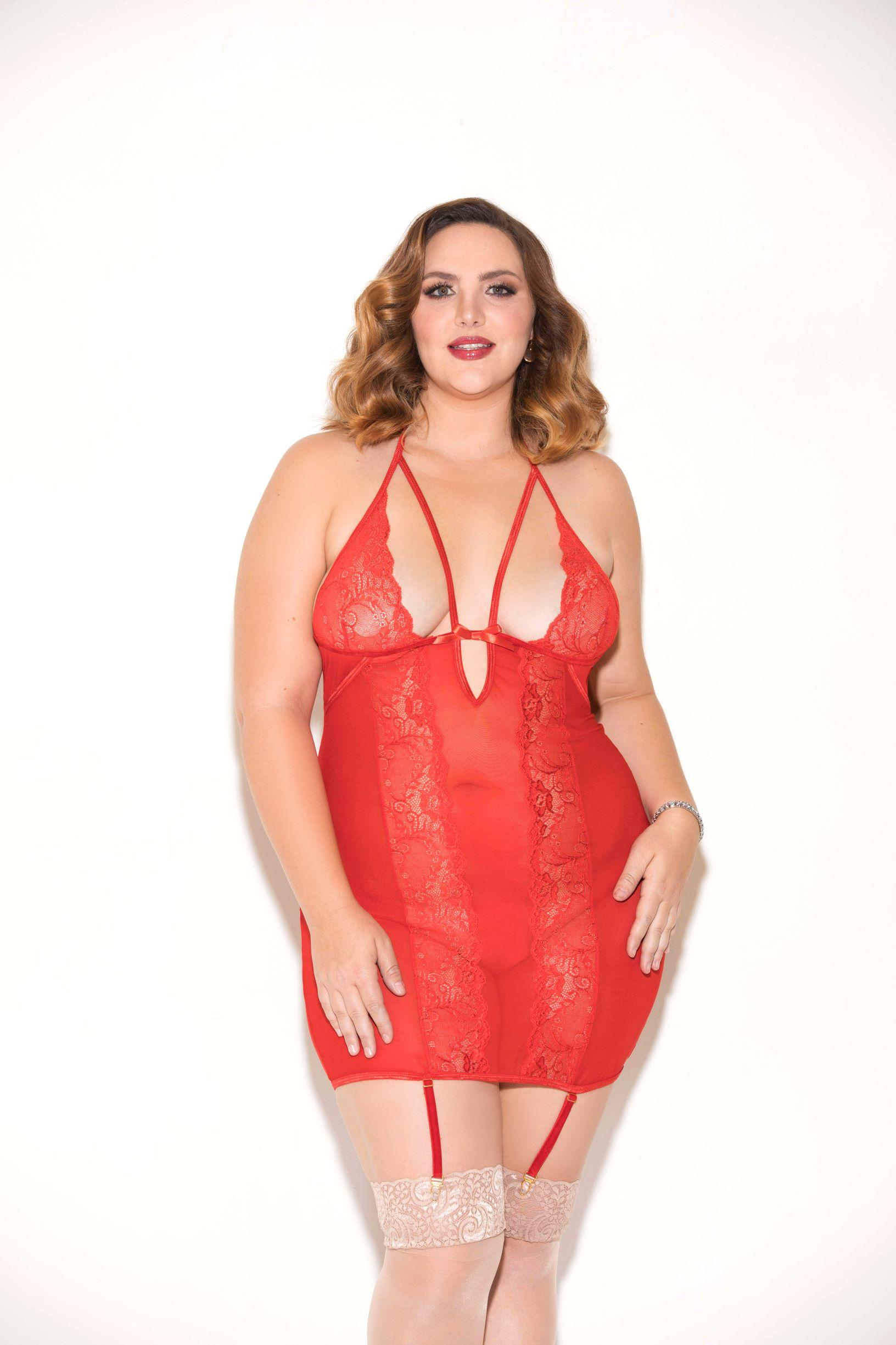 Red Fire Chemise