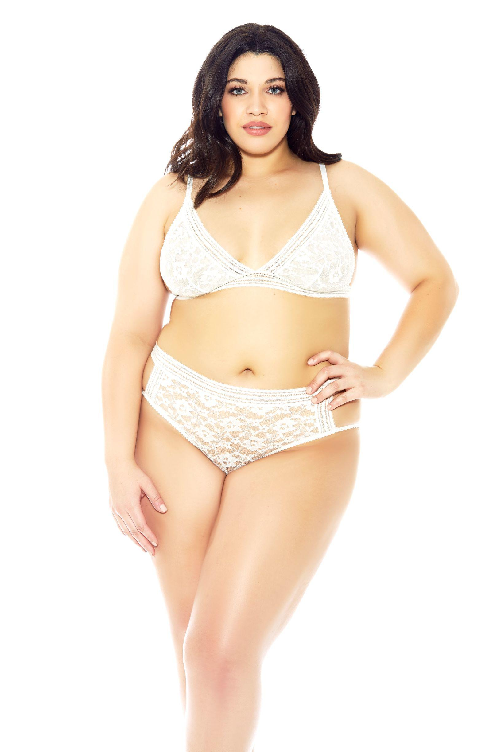 White Bella Bra Set