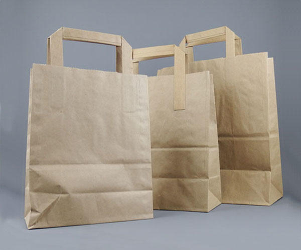 3af44af795b Recycled Brown Kraft Paper Bags