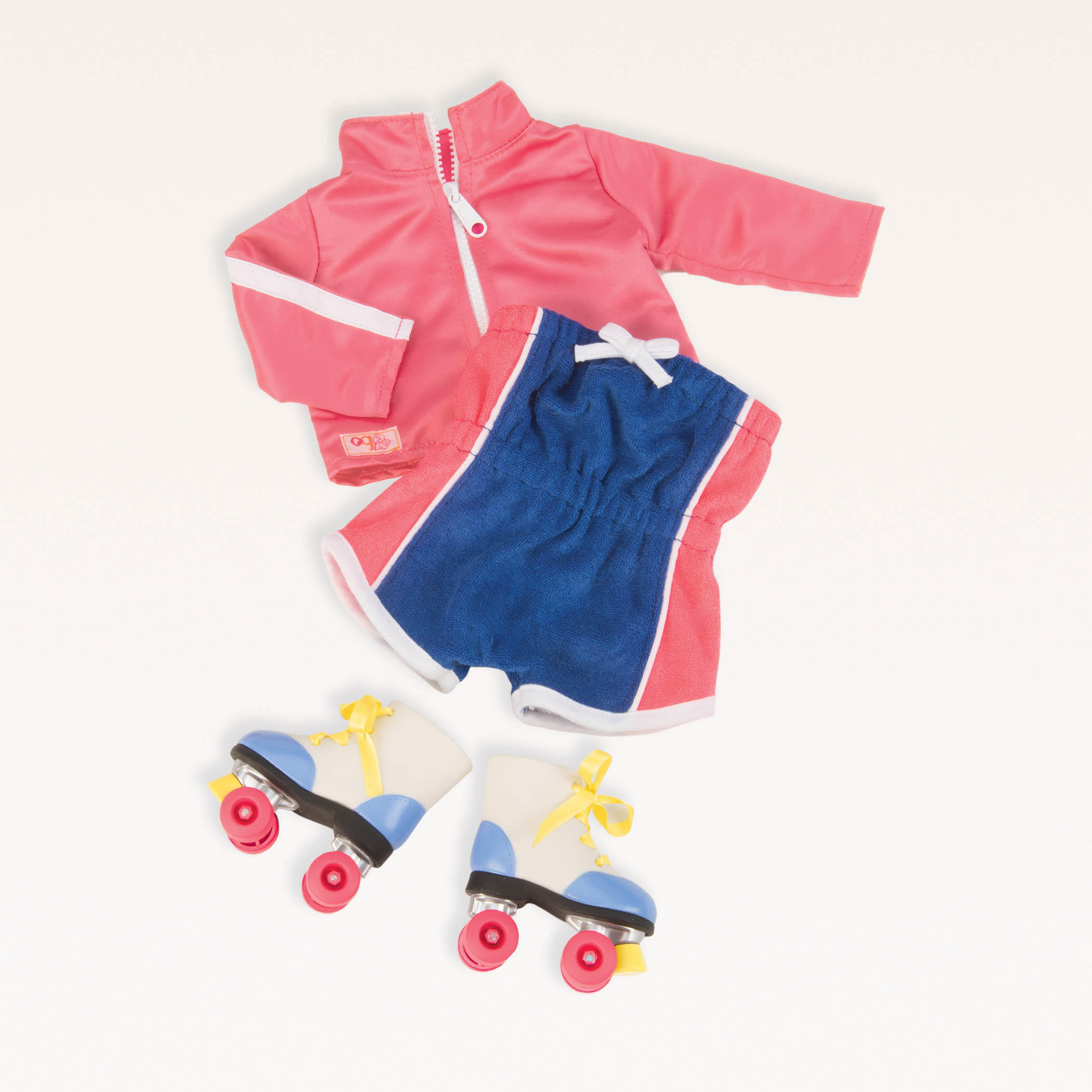 Roller Disco Dolls Outfit And Roller Skates