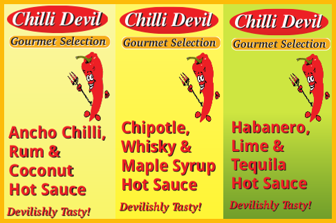 New Gourmet Chilli Sauces – Special Offer!