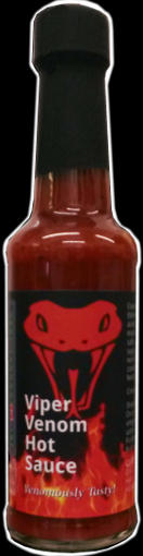 An example of a custom label hot sauce