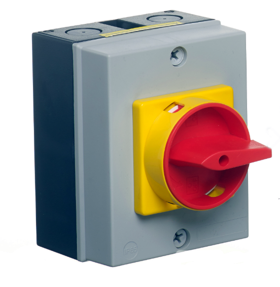 25a 4 Pole Ip65 Rotary Isolator Switch Disconnect Lb254p