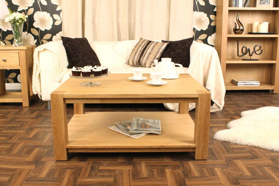 baumhaus aston oak coffee table large baumhaus aston oak coffee table