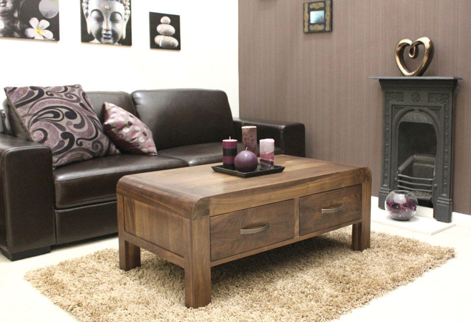 baumhaus shiro walnut four drawer coffee table baumhaus aston oak coffee table