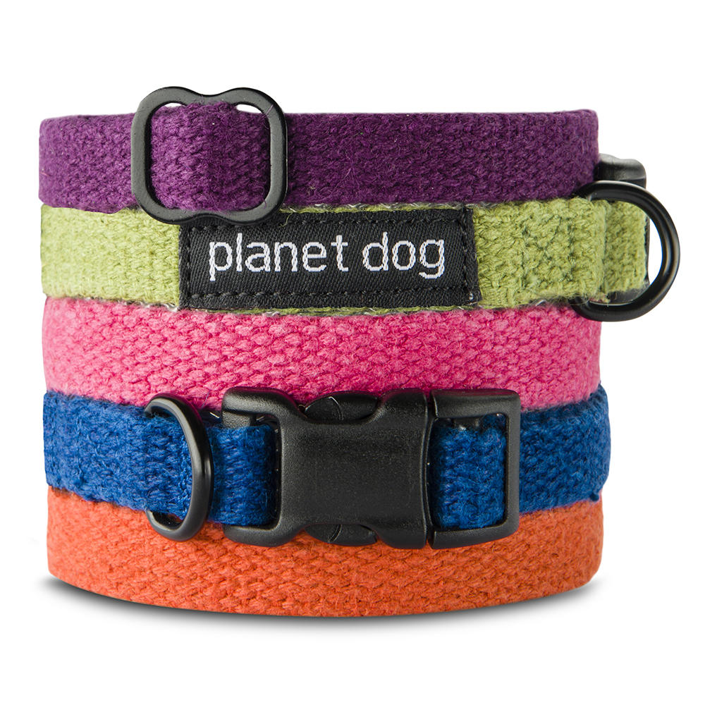 Hemp Fleece Lined Dog Collars