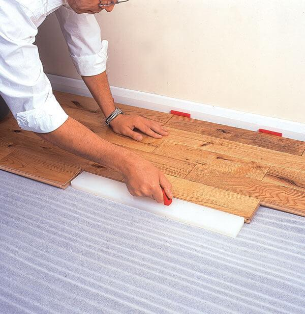 Laminate Tapping Block Flooring Village