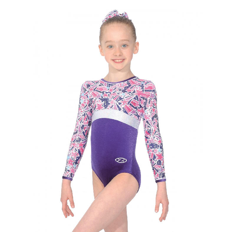 9253f32dea54 Halley Long Sleeved Leotard The Zone