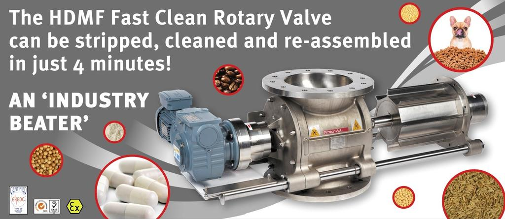 How to Clean Rotary Valves in 4 Minutes