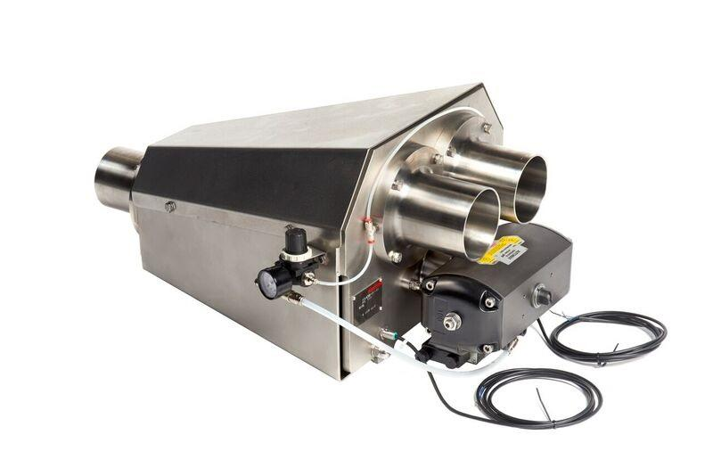 pipe selecter diverter valve