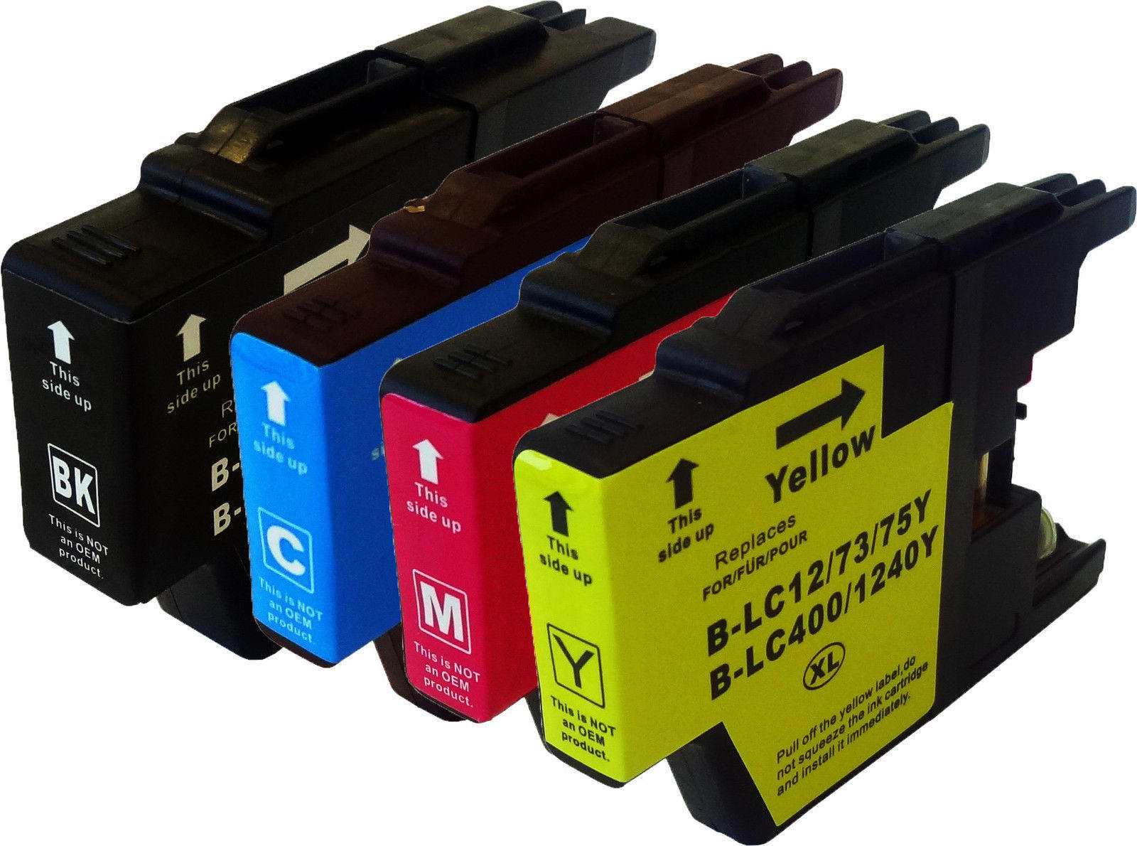 Compatible ink cartridges for Brother printers