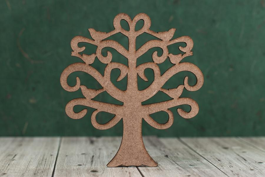 Small Mdf Tree Shapes Ideal For Family Plaques And Signs