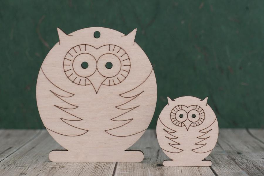 plywood owl shapes
