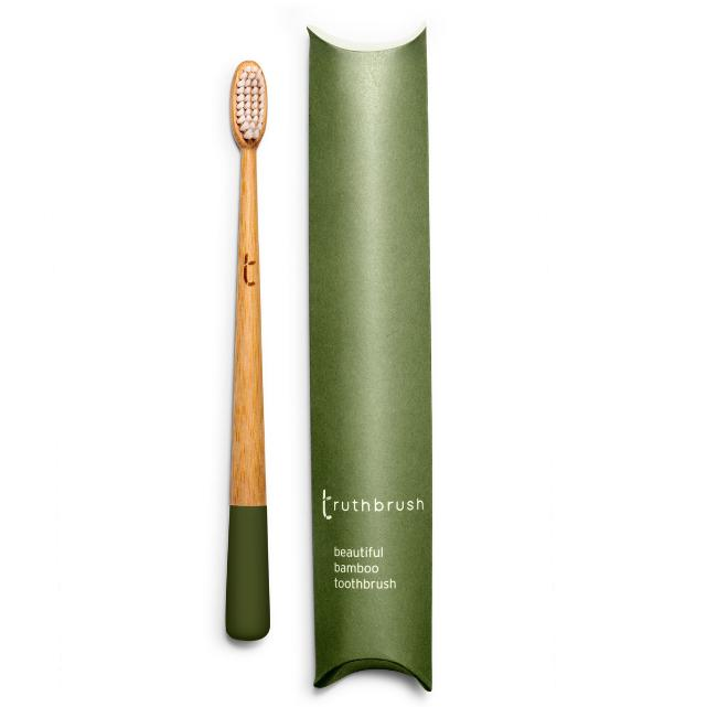 Green Eco Friendly Bamboo Toothbrush Biodegradable