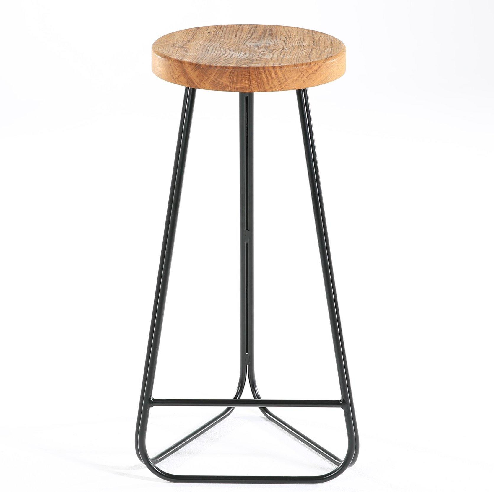 Picture of: Eco Friendly Breakfast Bar Stool Sustainable British Wood Bar Stool