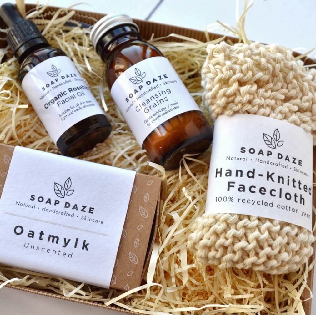 Natural Beauty Gift Set For Sensitive Skin Vegan