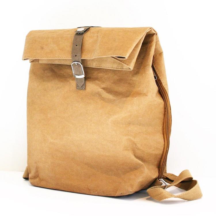292847c20ce5 Eco-Friendly Paper Backpack | Vegan Backpack | Vegan Leather Backpack